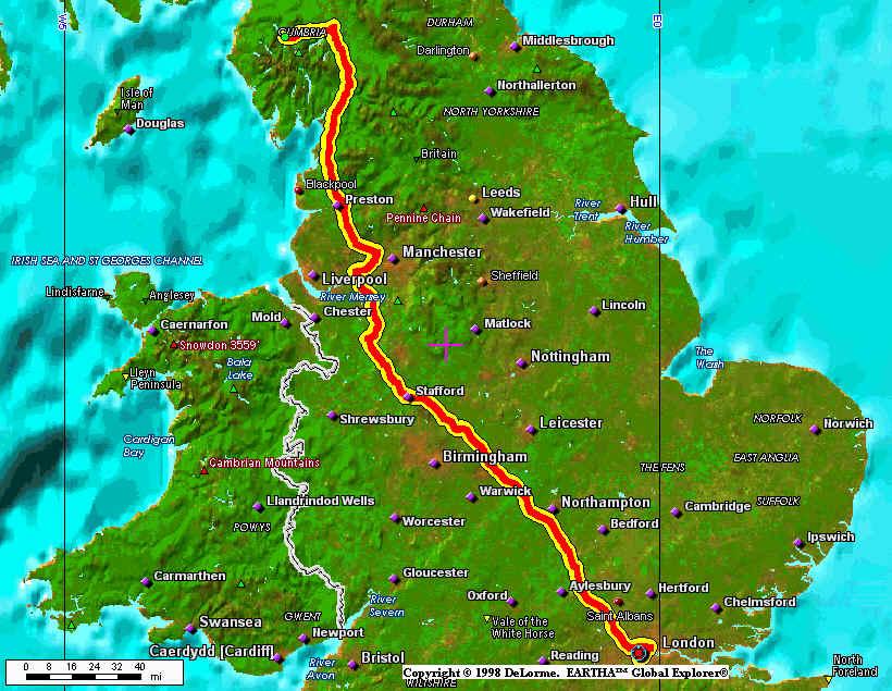 Windermere England Map CVMSANTE