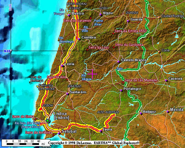 Maps Of The Rich Odyssey - Valenca portugal map
